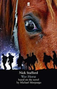The cover of Michael Morpurgo's WWI novel, War Horse