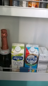 My fridge door contents.
