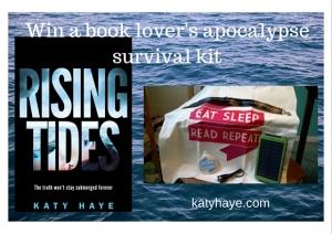 Win a book lover's apocalypse survival kit