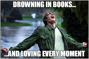 Drown in books