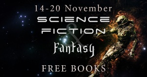 A cornucopia of sci-fi and fantasy books. Click to check them out.