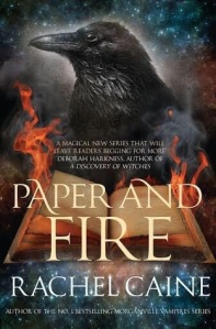 Cover of Rachel Caine's Paper and Fire