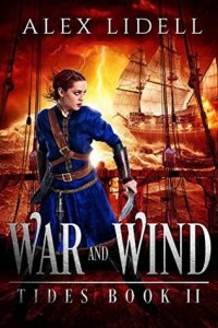 Cover of Alex Lidell's War and Wind