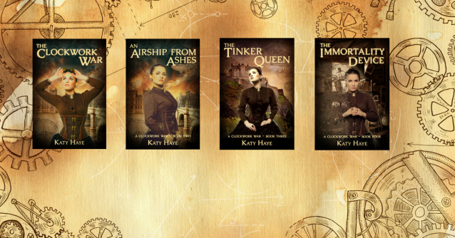 A clockwork war series covers