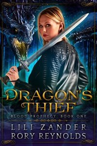 Cover of Lili Zander and Rory Reynolds' Dragons Thief