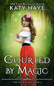 Cover of Katy Haye's Courted by Magic